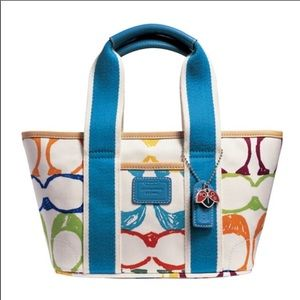 Coach Small Scribble Tote Bag